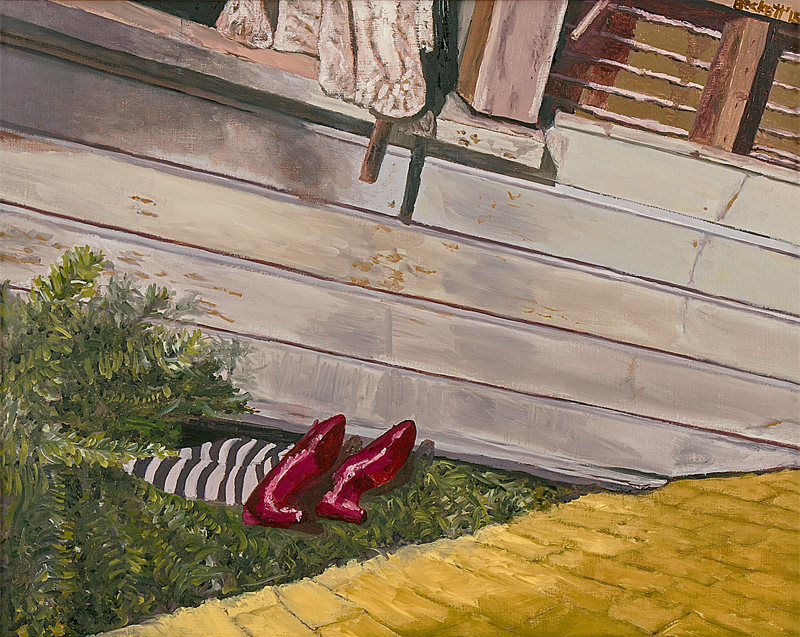 Study: Wizard of Oz   16 in x 20 in Oil on Canvas 2015   Private Collection of Sue McKinley